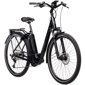 Cube Town Sport Hybrid EXC 500 Easy Entry, black'n'grey